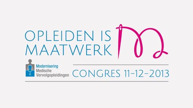 MMV Congres Opleiden is Maatwerk 2013